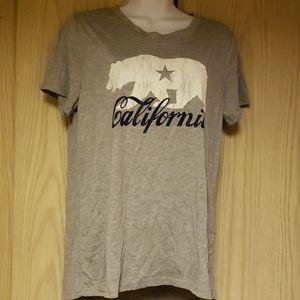 California gray tshirt
